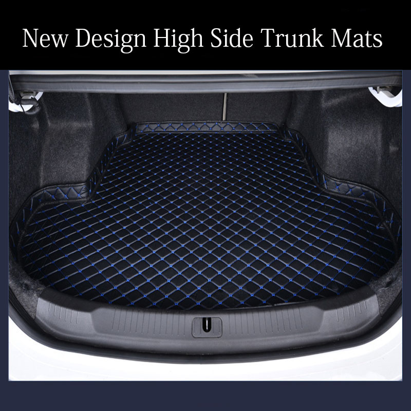 Custom Fit Car Trunk Mats Cargo Liner For Toyota Prius Vios 6D Special All Weather Heavy Duty Car-styling Carpet Floor Liners(20