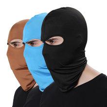 16 cores balaclava para homem chapéus beanie lycra rosto máscara de esqui bonnets para mulheres enfermeira boné para homem ao ar livre capa de proteção solar mz100