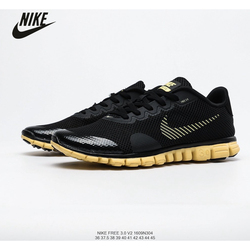 Nike Free 3.0 V2 Sports Running Shoes Original Men's Breathable Mesh Size 40-45 Air Max Men Hard Court Low Lace-up Rubber 10km