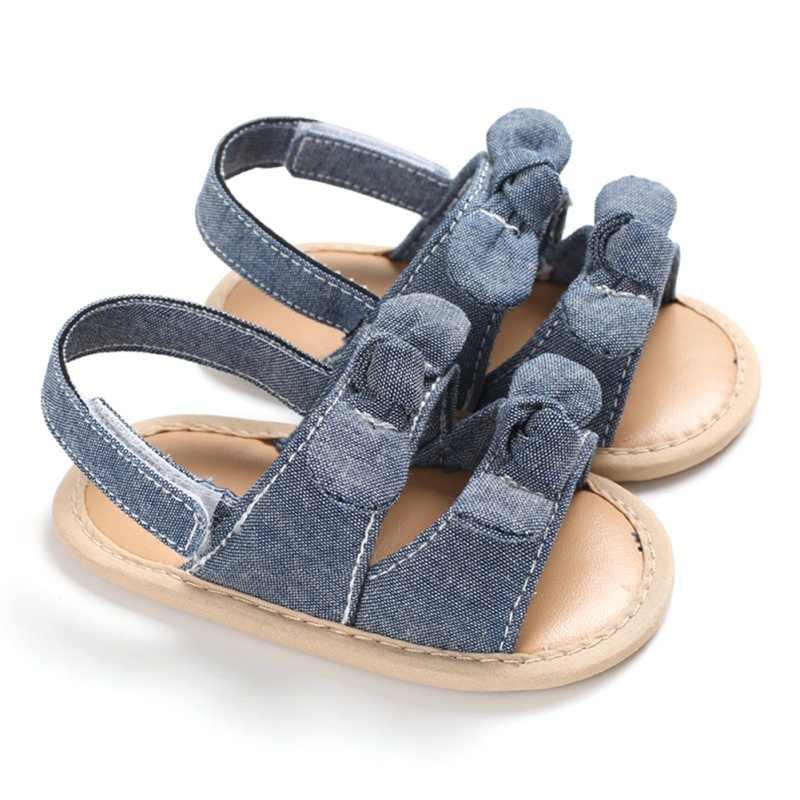 2020 جديد وصول طفل فتيات صغيرات يتدربن على المشي الصنادل لطيف حفلة الأميرة الصنادل الصيف الشاطئ أحذية الرضع طفلة الأحذية