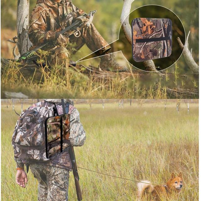 Moisture-proof EVA Mat Camouflage Cushion Picnic Camping Mat Hunting Seat Hitting Cushion for Outdoor Hunting Camping Fishing 2