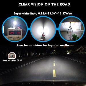 Image 2 - CNSUNNYLIGHT CANBUS LED Car H11/H8 9005 9006 Headlight Bulbs No Error 2400Lm 24W/pair 6000K White HB3 HB4 H9 H16jp Auto Headlamp