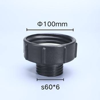 IBC Tank Fittings 100mm to S60 Tap Connector Replacement Valve Fitting For Home Garden Water pipe adaptor