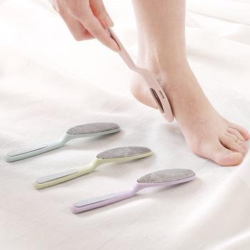 Foot Rasp Professional dwustronnie Foot File Rasp twardy pilnik usuwający martwy naskórek i zgrubienia Pedicure File Foot Heel tarka pielęgnacja stóp narzędzia tanie i dobre opinie Stainless Steel and Plastic FULL SIZE Foot Rasp428
