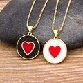 Новое поступление, модное ожерелье с подвеской в форме сердца для женщин, элегантные золотые цепочки, ожерелья для женщин, романтичные свад...