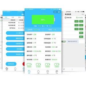 Image 2 - 5S do 16S inteligentny Bluetooth 40A 80A 100A 150A akumulator litowo jonowy Lifepo4 LTO bateria litowa płyta ochronna BMS równowagi 6S 7S 8S 10S 12S 14S