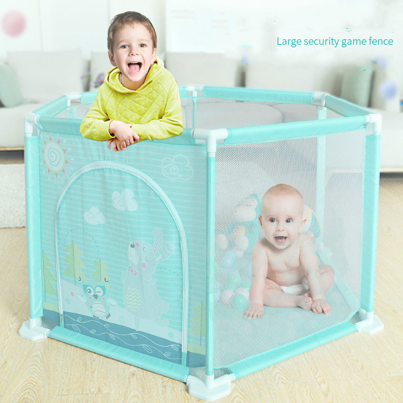 Baby Playpens Game Ball Pool Safe Barriers Play Yard Fence For Newborns Infants Children's Playpen