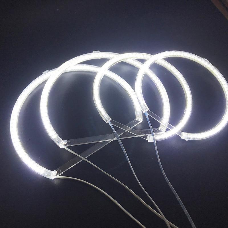 Image 5 - HochiTech for Bmw E53 X5 1999 2004 Ultra bright SMD white LED angel eyes 2600LM 12V halo ring kit daytime running light DRLCar Light Accessories   -