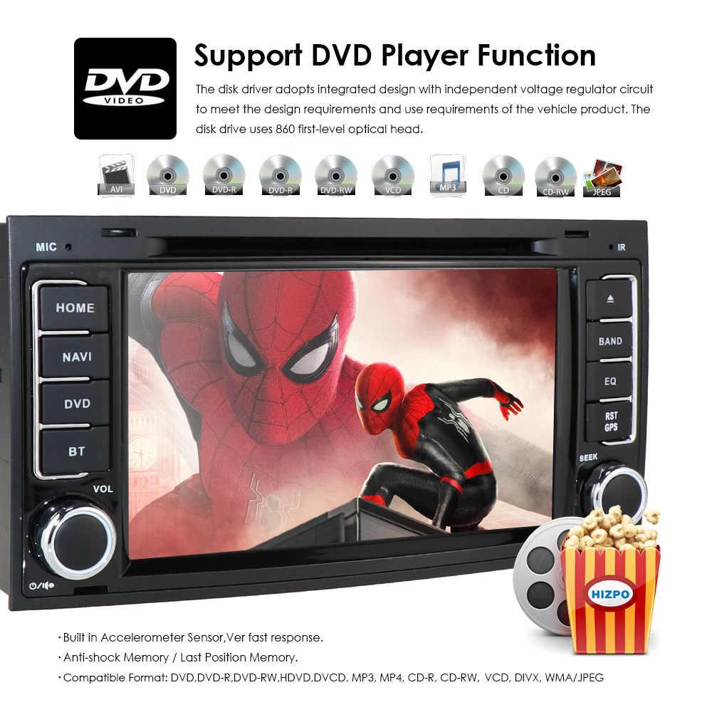 カーモニター DVD Dvd プレーヤー VW トゥアレグ T5 マルチバン GPS RDS Bluetooth RDS ラジオカムイン DVBT SWC AM/FM DAB + ゲーム