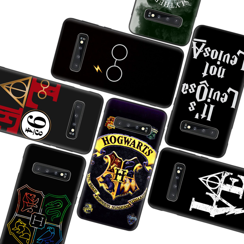 Potter Love Black Case for Samsung Galaxy S10 Lite Note 10 9 8 S9 S8 J4 J6 J8 + Plus S7 S6 Silicone Phone Case