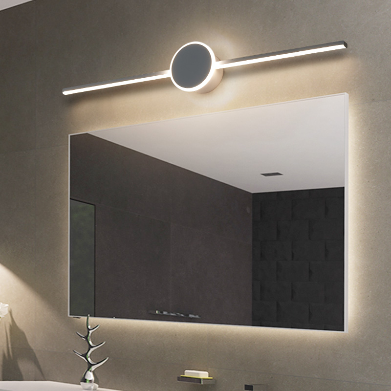 Lican Modern front Mirror lights LED Lamp for bathroom makeup mirror lamp cloakroom Modern mirror lights for home(China)