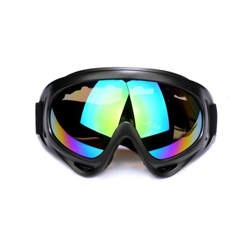 Skiing Goggles 100% Anti-UV Eye Protection Unbreakable Sports Glasses Goggle For Men Or Women Cycling Riding Driving Multicolor