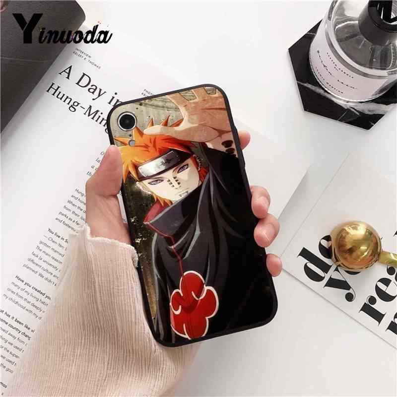 Motirunner Naruto AKATSUKI Personalizzata Cassa Del Telefono Del Modello Per Il IPhone 8 7 6 6S 6Plus X XS MAX 5 5S SE XR Della Copertura 11 Pro Max