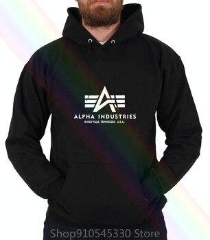 Alpha Industries Herren-Sudadera básica con capucha, Dunkel Grau, sudaderas con capucha, camiseta...