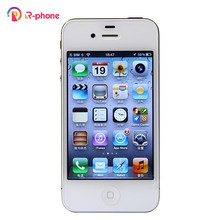 Apple original iphone 4S 64gb usou telefones celulares 3.5