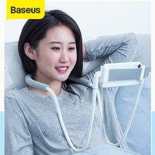 Baseus مرنة حامل هاتف كسول لسطح المكتب السرير اللوحي 360 درجة دوران قابل للتعديل حامل هاتف دعامة حامل