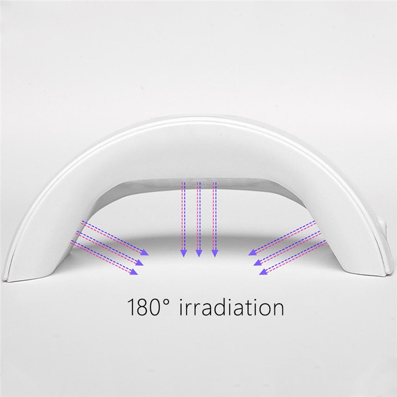 36W LED Light UV Lamp Nail Dryer Art Gel Curing Timer Acrylic Polish Lamp Led Nail Gel Nail Polish Dryer Nails Tool in Nail Dryers from Beauty Health
