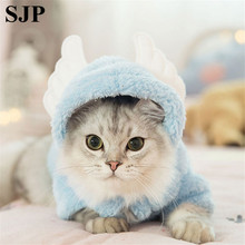 Cat Clothes Kittens Cute Funny Pets Dressed In English Short Cats Autumn And Winter Halloween Costumes Holidays Pet