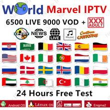 HD World adult iptv for android smart tv box 6500+live m3u 1
