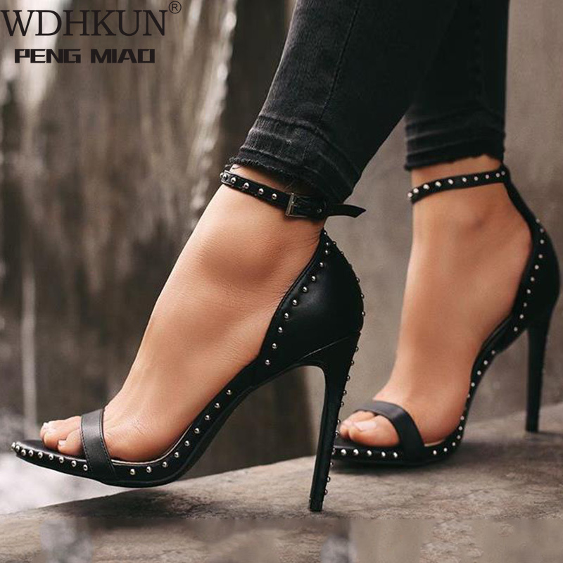 35-42 jardas sexy senhoras de salto alto sapatos femininos 2020 sapatos de verão bombas mulher sapatos de festa super salto alto 11.5cm
