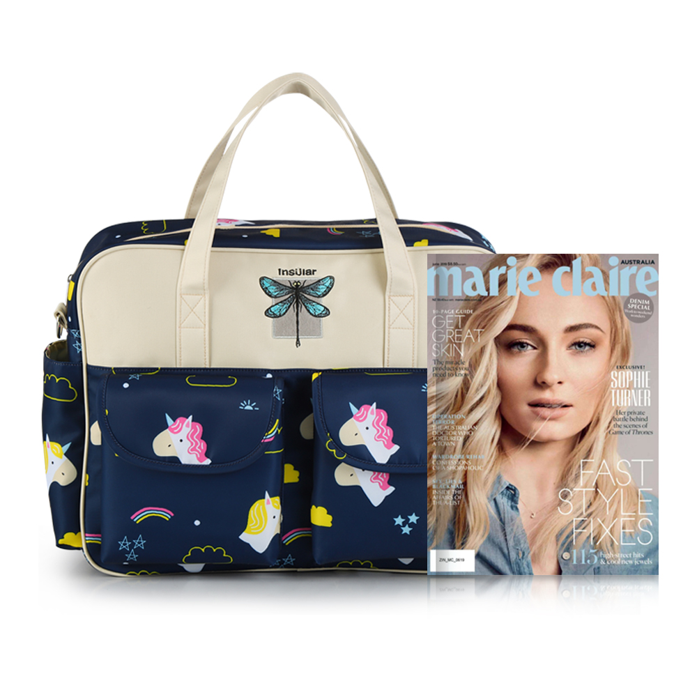 Waterproof nylon printing one-shoulder mothers bag with oblique hand-held mother-to-child and large-capacity