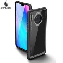 SUPCASE için Huawei Mate 30 kılıfı (2019 sürümü) UB stil anti vurmak Premium hibrid koruyucu TPU tampon PC şeffaf arka kapak