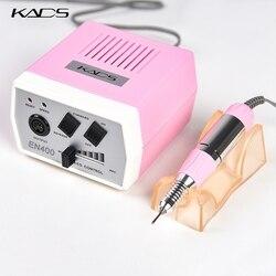 KADS 30000RPM juego de máquina para perforar uñas de Arte Negro, herramientas de manicura, acrílicos para pedicura, uñas eléctricas grises