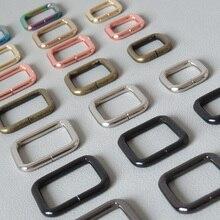 Bag Belt Hardware Purse-Strap Ring-Buckle Clasp Loop Thickness-Handbag Dog-Leash Rectangle