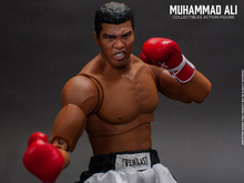 For Collection full set figure toys 1/12 Scale Muhammad Ali 6inches Collectibles Action Figure With Three Head Sculpt Doll