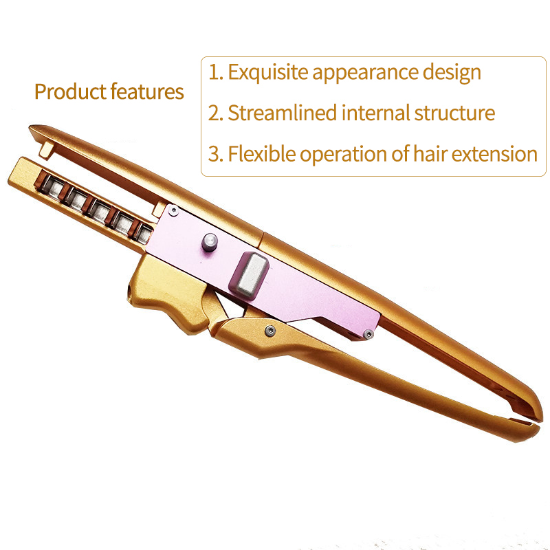 Pro 6D Hair Extension Machine High-End Seamless Hair Connector for Salon Wig / Virgin Hair Salon Connector