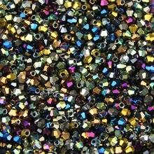 Jhnby 3 мм 200 шт aaa биконусные Австрийские кристаллы бусины