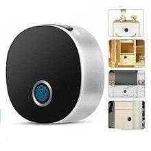 Cerradura inteligente de huella Digital cerradura de puerta de madera cerradura electrónica de seguridad de Archivo de alarma cajón