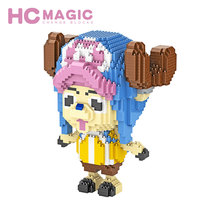 HC MAGIC Diamond Building Blocks Piece Japan Boys High Tech Toys Original Educational Gifts Action Plastic Assembly Model Hobby