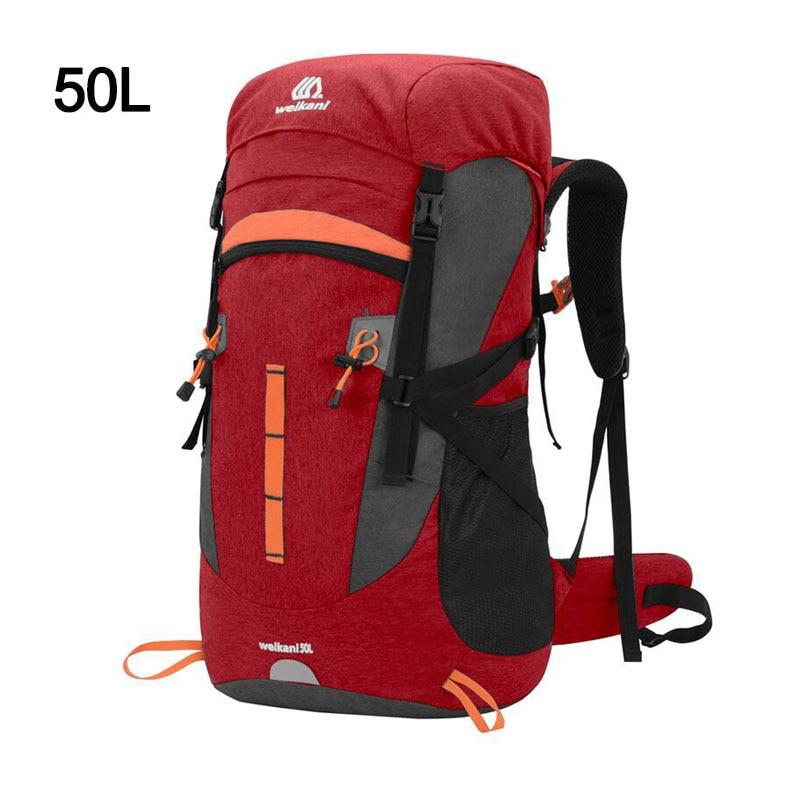 50L Travel Bag Camping Backpack Hiking Army Sport Bag  3
