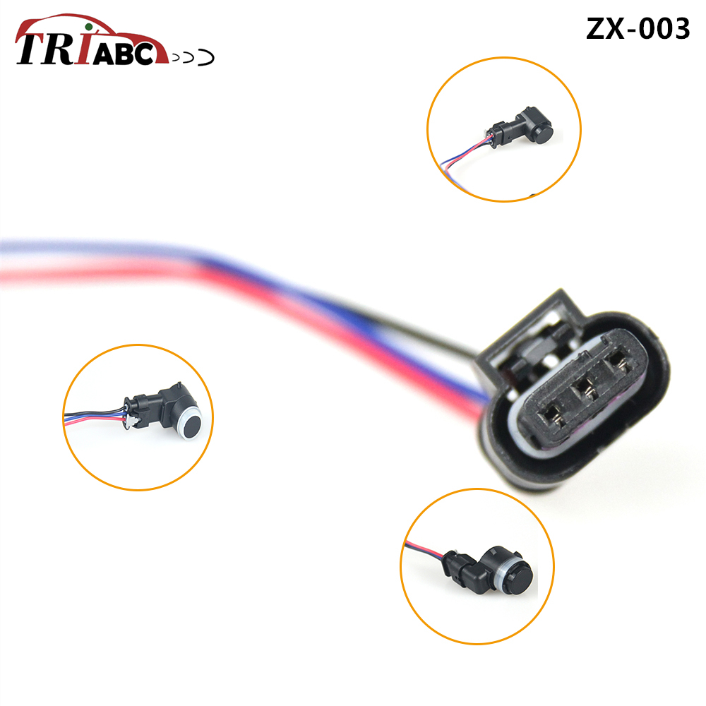 PDC Parking Sensor Connectors For Ford Galaxy WA6 BMW X3 E83 X5 F18 F10 Audi A1 A3 Volvo S80 V70 XC60 Fiche Sensor Parktronic