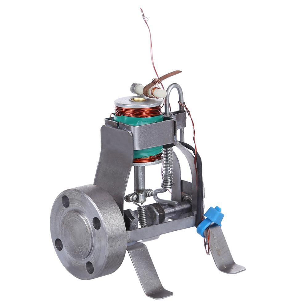 Elektromagnetyczny pojedynczy cylinder Model silnika elektryczna konwersja energii magnetycznej nauka zabawka