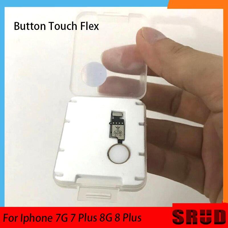 Similar Original Universal Home Button Flex Cable For IPhone 7  7 Plus 8 8 Plus Return Key NO Touch ID