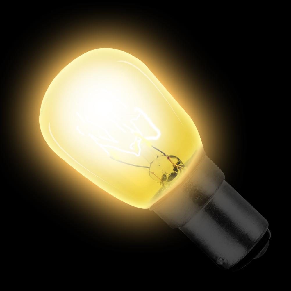 15W B15 220v Sewing Machine Bulb LED Light Bulb Fridge Freezer Appliance Warm White Bulb Machine Tools Warning Lights