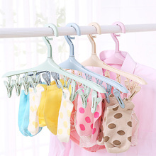 Hanger Underwear Socks Drying-Clip Bathroom-Accessories Multifunction Rotated 360 Portable
