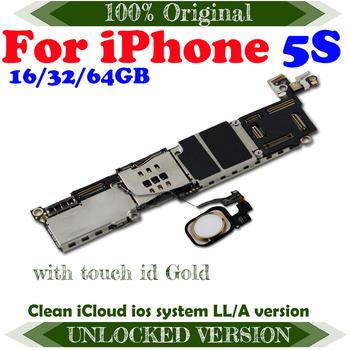 100 oryginalna płyta główna dla iPhone 5S odblokowana płyta główna 64gb płyta główna z IOS 32gb płyta główna 16gb pełna funkcja tanie i dobre opinie TDHHX Wewnętrzny Apple iphone For iphone 5s motherboard Original Disassemble Unlocked and used 16GB 32GB 64GB YES No