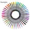 48 Color/Set Glitter Sketch Drawing Color Pen Markers Gel Pens Set