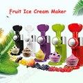 Machine à crème glacée Milkshake fabricant de crème glacée fruits congelés Dessert faisant la Machine ménage coloré glaçons/concasseur