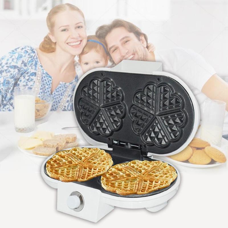 Sokany Household Electric Walnut Waffle Maker Sandwich Breakfast Machine Waffle Makers     - title=