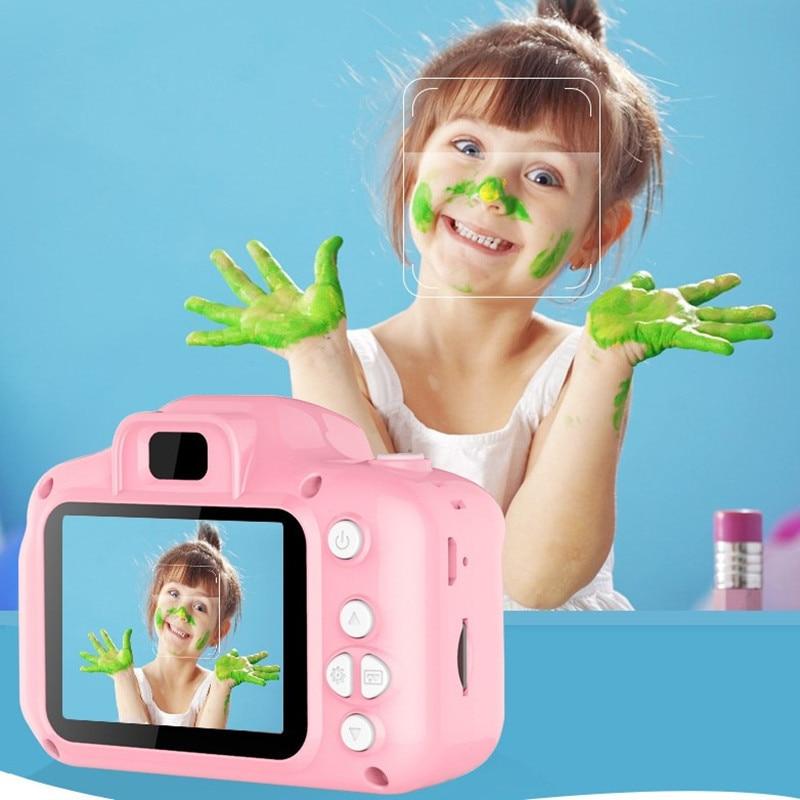Camera Fotográfica Digital Infantil Educativa com LCD e 13 Mega Pixels - EasyShot