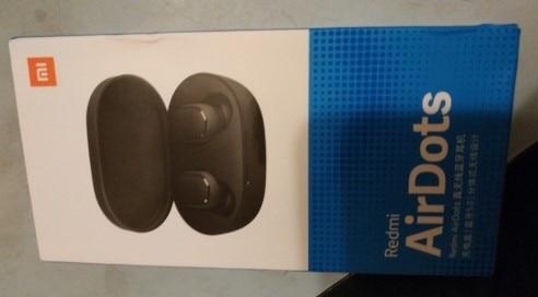 Fone de Ouvido Xiaomi Redmi Airdots Com Bluetooth photo review