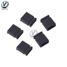 Bouchon de court-Circuit fermé, 100 pièces, pas de 2.54mm, connecteur de broche, blocs de saut, connecteur de court-Circuit fermé