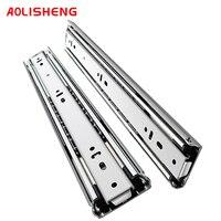 Heavy duty drawer slide rail 51mm industrial full extension ball bearing load 68KG