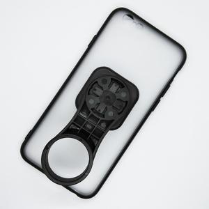 Image 2 - Support de support de téléphone portable de bicyclette de chapeau de tige avec le support de téléphone de vélo de boîtier de PC TPU pour liphone 6/6S/7/7 plus/8/8 Plus/11 Pro/12