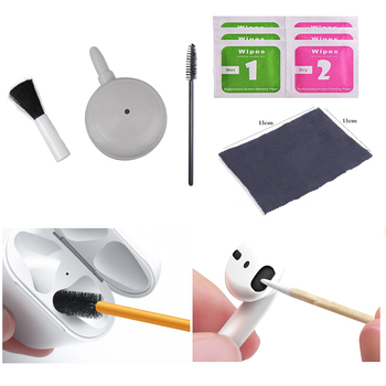 Air Pump Brush Cleaner For Airpods Pro 1/2 For Xiaomi Airdots Huawei Freebuds 2 Pro Bluetooth Earphones Case Cleaning Tools image