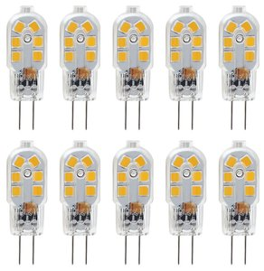 10pcs 3 W LED Bi-pin Lights 300-360 lm G4 T 12 LED Beads SMD 2835 Decorative Warm White Cold White Natural White 220-240 V 12 V
